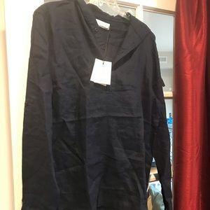 Onia linen hoodie